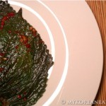 Kkaetnip Jangachi (Pickled Perilla Leaves)