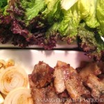 Herb Samgyupsal (Grilled Pork Belly)