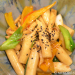 Vegetarian Gungjung Tteokbokki 궁중 떡볶이 (Royal Palace Rice Cakes)