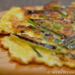 Pajeon 파전 (Green Onion Pancake)