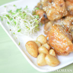 Sweet Soy Garlic Fried Chicken