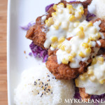 Chicken Kaas 치킨 까스 (Breaded Fried Chicken w Cheese)